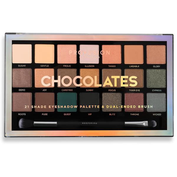 Chocolates Palette