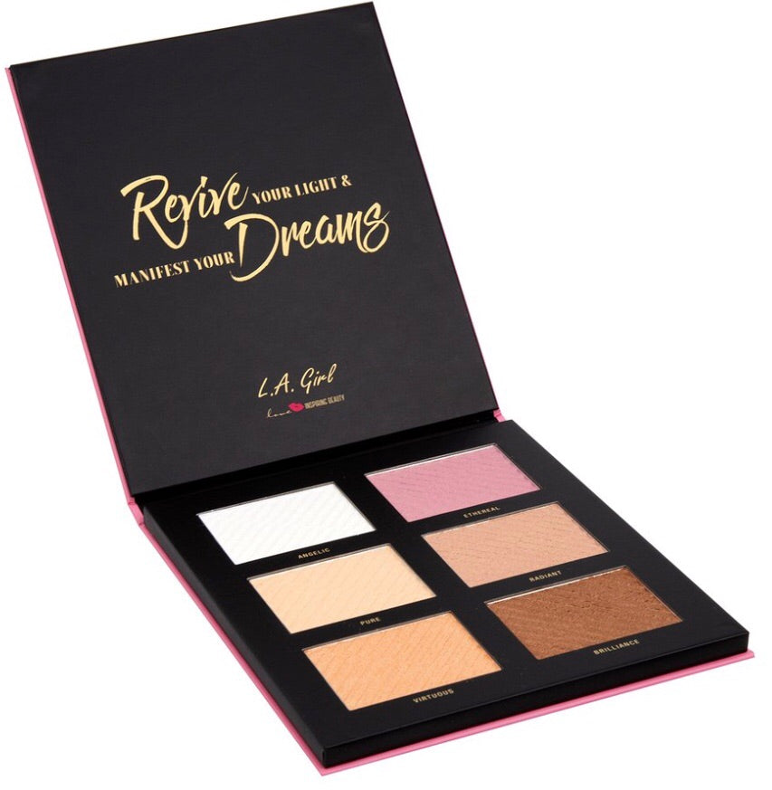 Reverie 6 Colour Highlighter Palette (G42402)