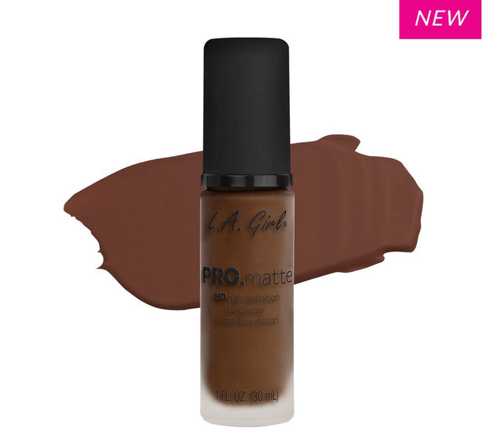 Pro Matte HD Long Wear Foundation Chestnut (GLM722)