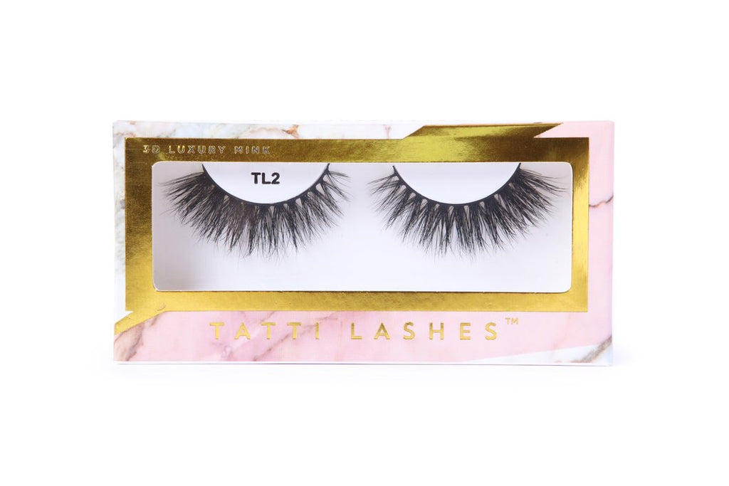 TL2 3D Luxury Mink Lashes