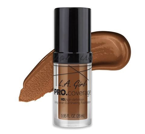 Pro Coverage HD Long Wear Illuminating Foundation Coffee (GLM654)