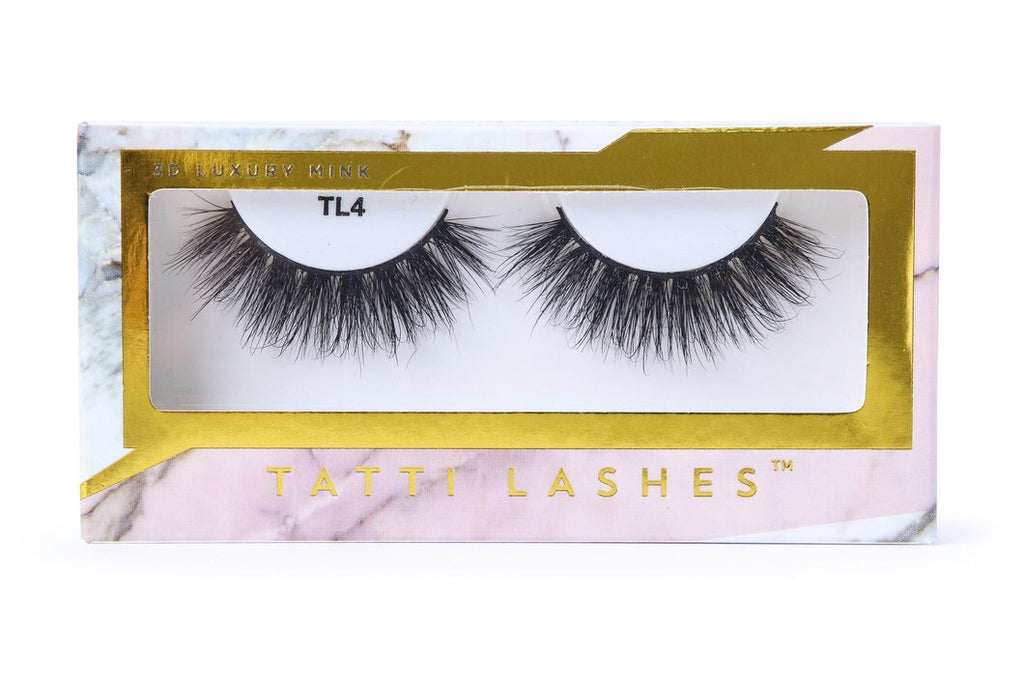 TL4 3D Luxury Mink Lashes