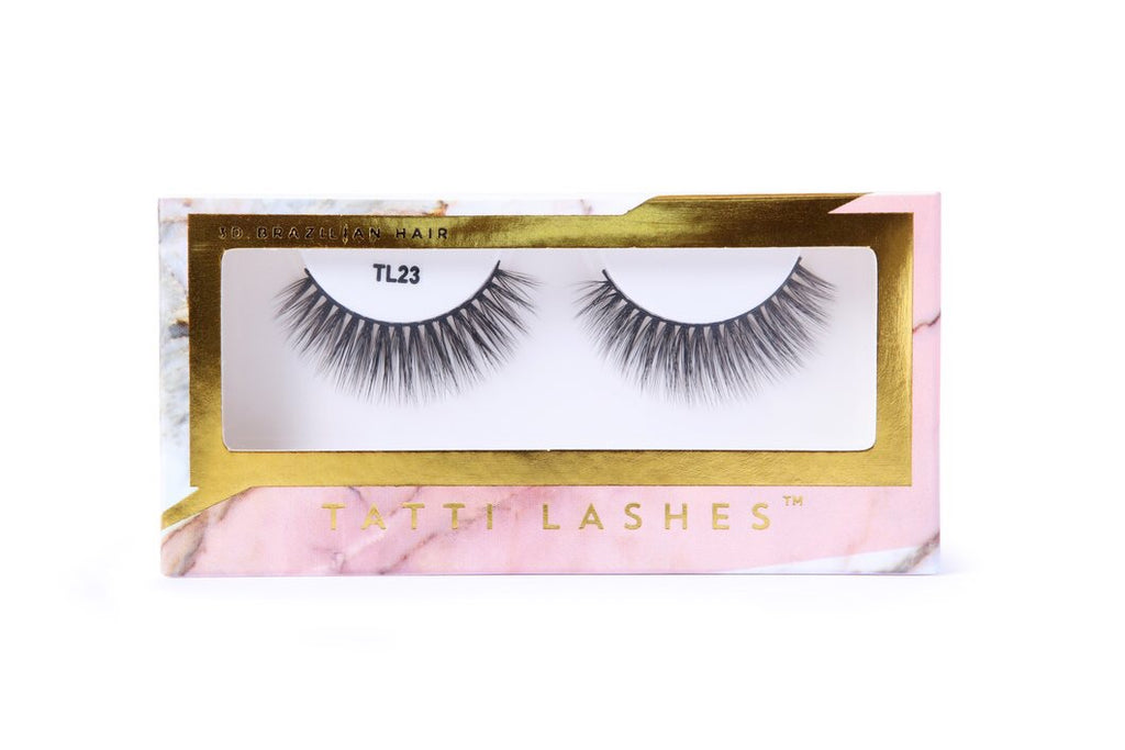 TL23 - 3D Brazilian Silk Lashes