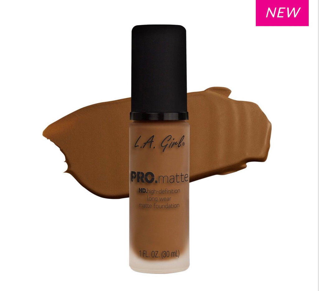 Pro Matte HD Long Wear Foundation Nutmeg (GLM683)