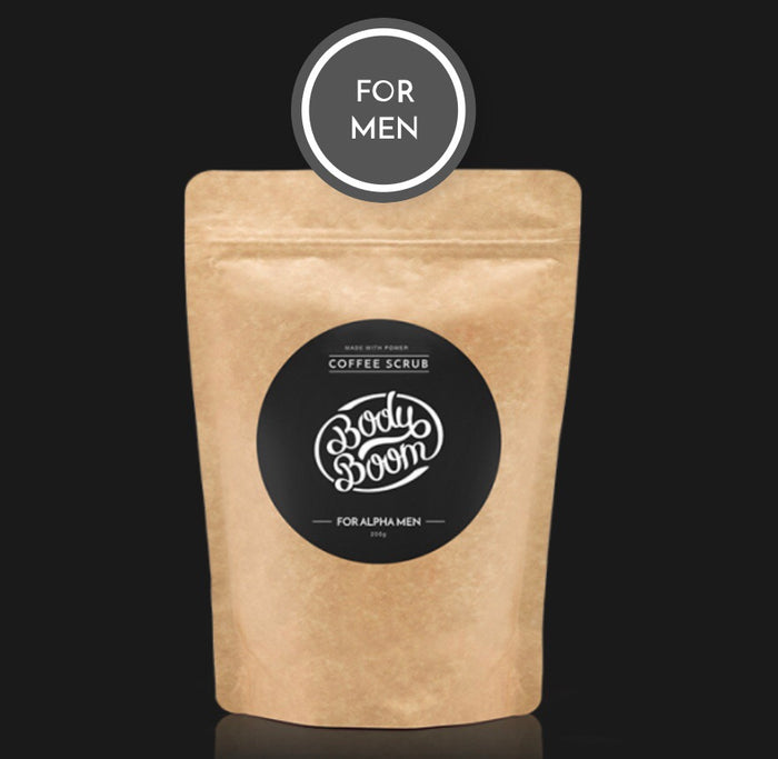 200g Alpha Male Coffee Scrub
