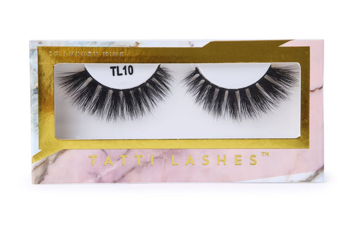 TL10 | 3D Luxury Mink Lashes