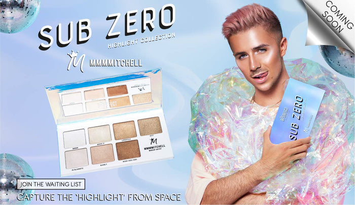 @mmmmitchell X BPerfect Sub Zero Palette - Coming soon