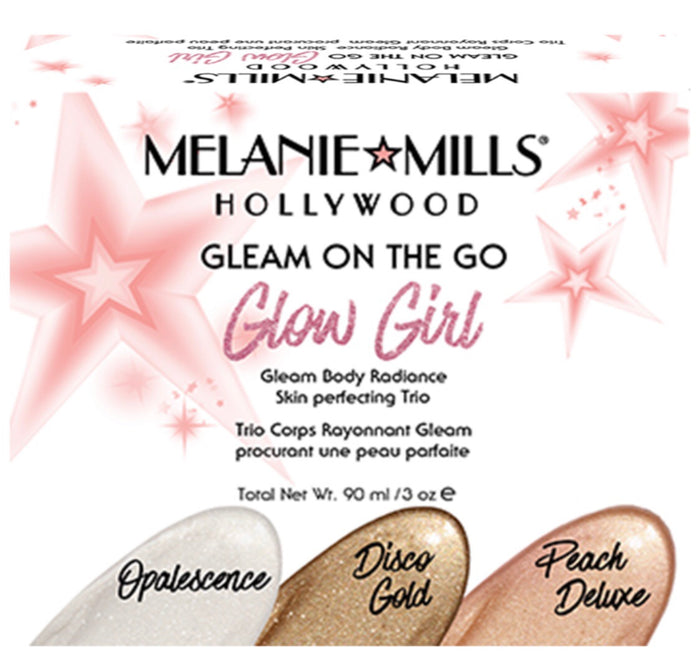 Glow Girl - Gleam Body Radiance On The Go Set (Lighter Shades)