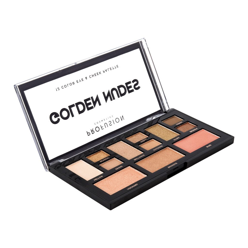 Golden Nudes Eye + Cheek Palette
