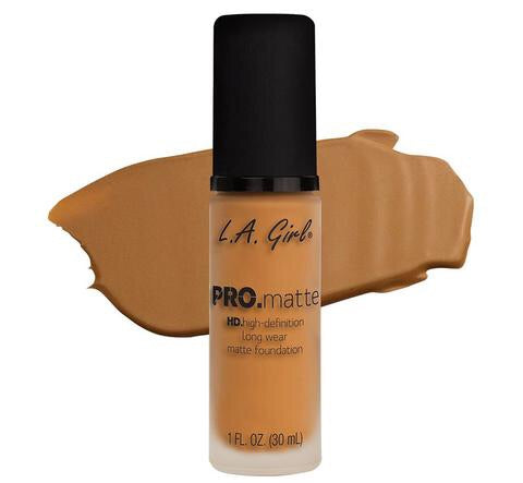 Pro Matte HD Long Wear Foundation Golden Bronze (GLM680)