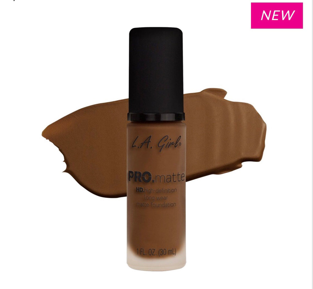 Pro Matte HD Long Wear Foundation Cappuccino (GLM684)