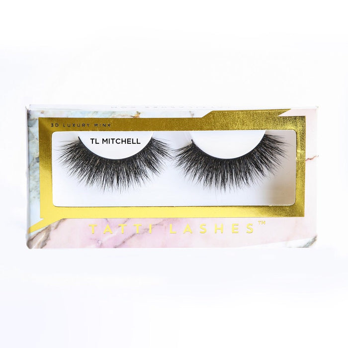 TL Mitchell | 4D Luxury Mink Lashes