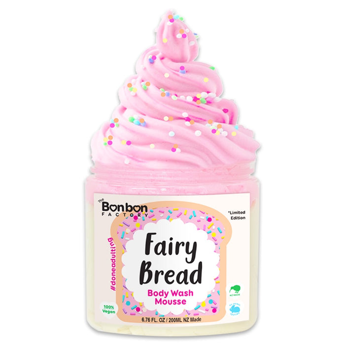 Body Wash Mousse - Fairy Bread