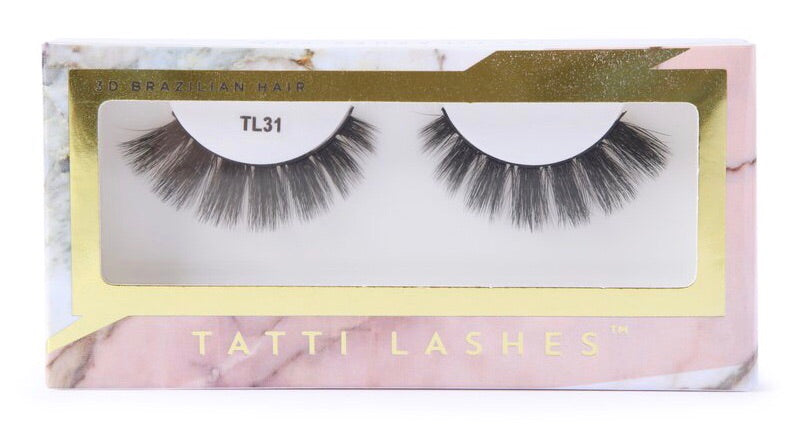 Brazilian Silk 3D Lashes | TL31
