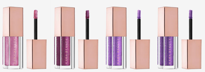 Galaxy Bomb Liquid Eyeshadows - Pink + Purple Collection