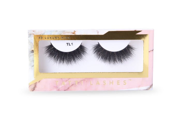 TL1 | 3D Luxury Mink Lashes