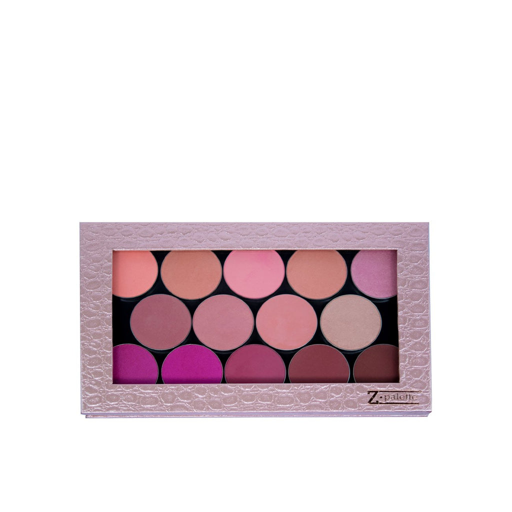 Large Rose Gold Croc Z Palette