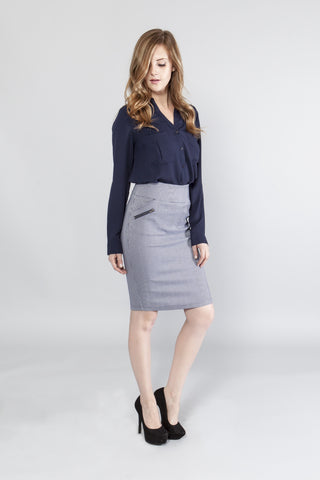 Stretch Performance Pencil Skirt - stylebookcloset