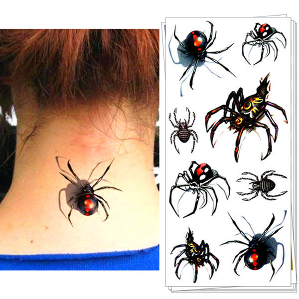 3D Temporary Spider or Scorpian Tattoo - Waterproof