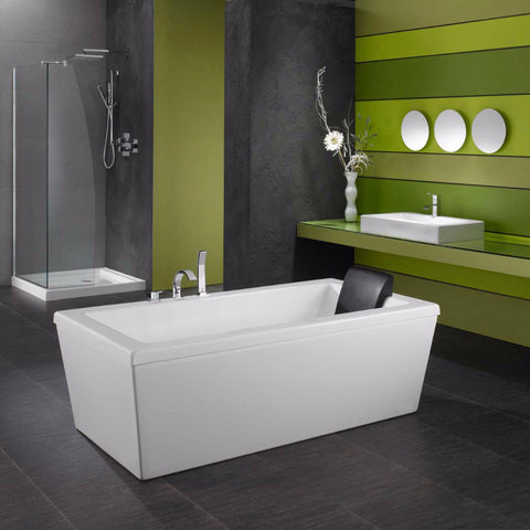 Neptune AM3260A - Ametys Activ-Air 5' Freestanding Acrylic Bathtub