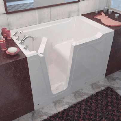 Meditub Handicap Accessible Walk-In Bathtub 3660 Series