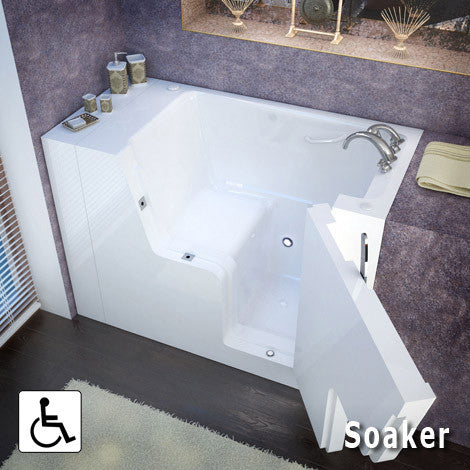 Meditub Handicap Accessible Walk-In Bathtub 3054 Series