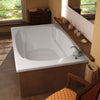 Image of Venzi Charleston 72x48 Drop-in Rectangular Air Bathtub, Center Drain (4872CAL/R)