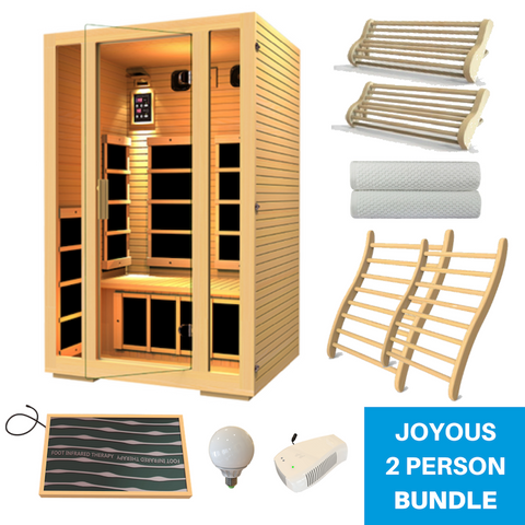JNH Lifestyle Joyous Sauna All-In-One Bundle