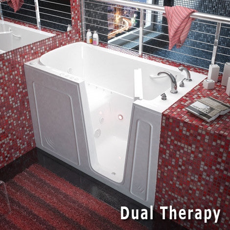 Meditub Handicap Accessible Walk-In Bathtub 3260 Series