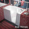 Image of Meditub Handicap Accessible Walk-In Bathtub 3260 Series