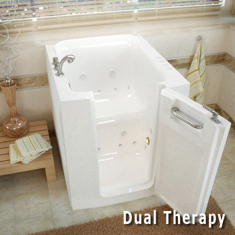 Meditub Handicap Accessible Walk-In Spa Bathtub 3238 Series