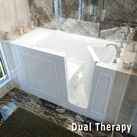 Meditub Handicap Accessible Walk-In Bathtub 3060 Series