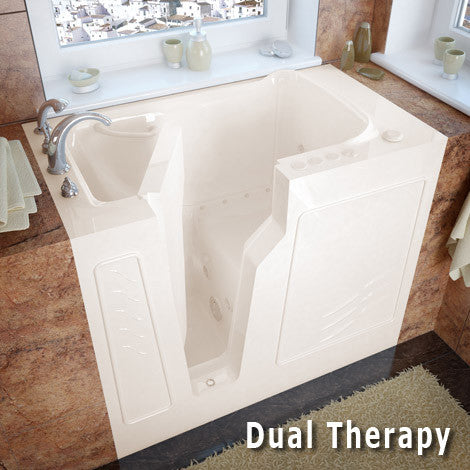 Meditub Handicap Accessible Walk-In Bathtub 2646 Series