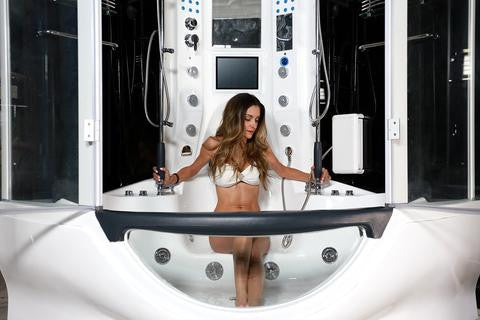 MayaBath The Superior Steam Shower/Whirlpool Bathtub