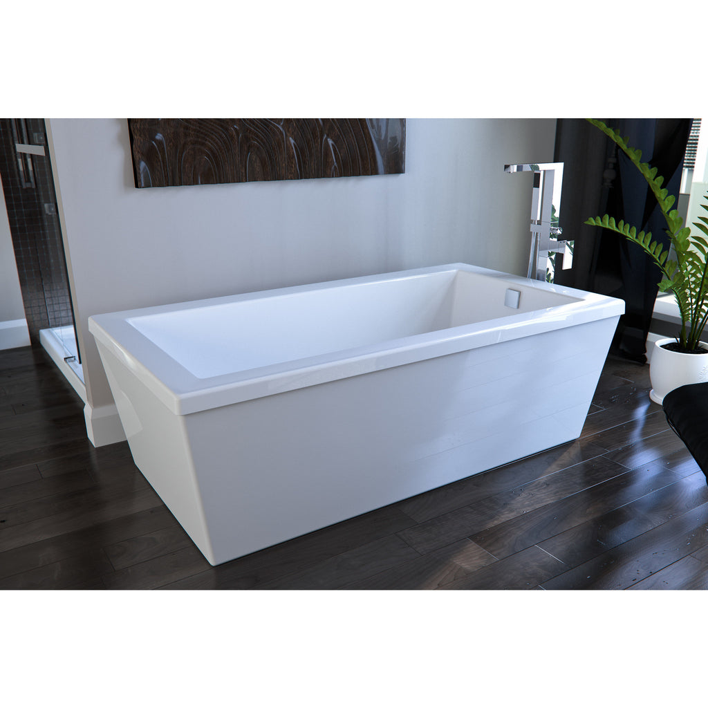 Neptune AM3260A Ametys Activ-Air 5\' Freestanding Acrylic Bathtub ...
