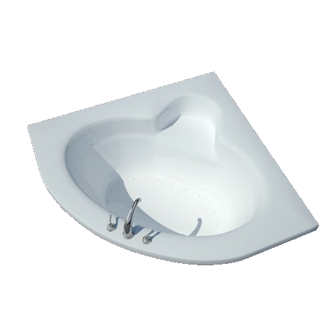 Atlantis Alexandria 6060 2-person Drop-in Corner Luxury Bathtub