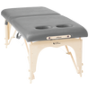 "Image of Custom Craftworks Athena 30"" w/Breast Recesses Stainless Steel Portable Massage Table"