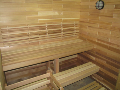 Traditional VU Classic Sauna by Saunacore