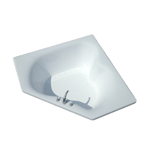 Atlantis Cascade 6060 2-person Drop-in Corner Jetted Bathtub