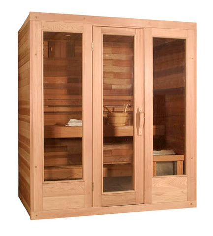 Traditional Classic Style Sauna by Saunacore