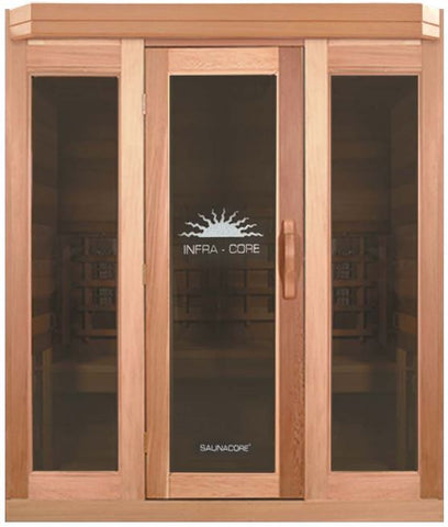 INFRA-CORE Premium Infrared and Conventional Dual Sauna By SaunaCore