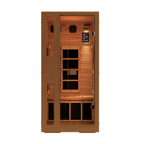 JNH Lifestyles Ensi RED Zero-EMF Far Infrared Sauna