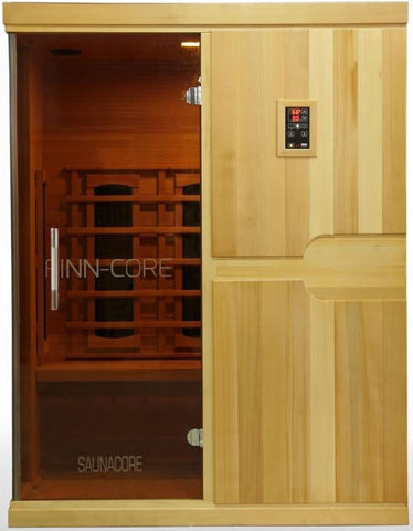 FINN-CORE Series Infrared Sauna by SaunaCore