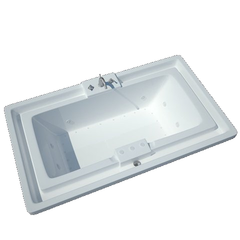 Atlantis Infinity 4678 Drop-in Rectangular Jetted Spa Bathtub