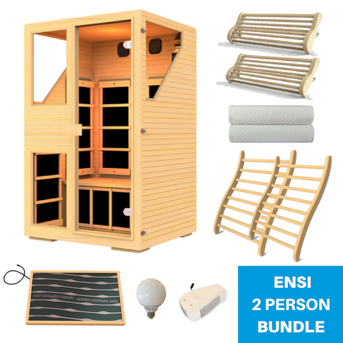 JNH Lifestyle Ensi Sauna All-In-One Bundle