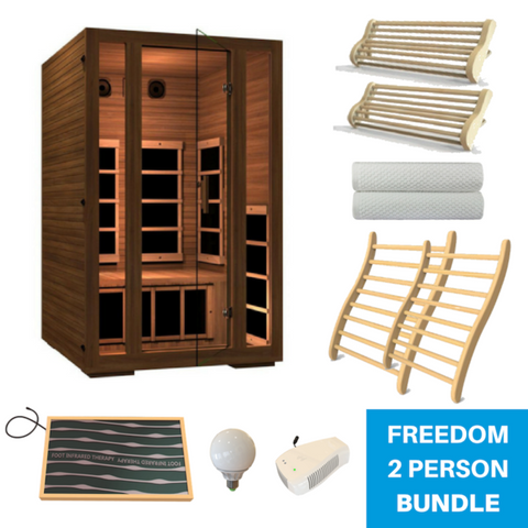 JNH Lifestyle Freedom Sauna All-In-One Bundle