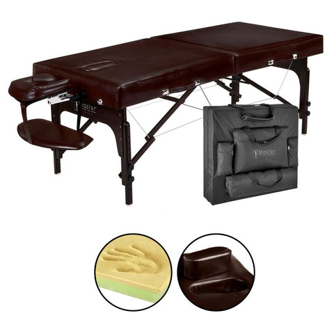 "Master Massage 31"" SUPREME™ LX Portable Massage Table Package"
