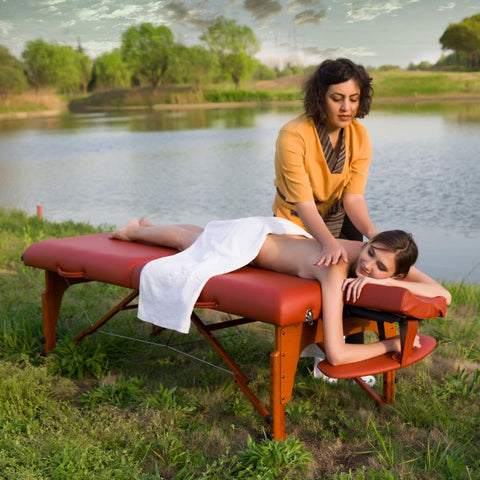 "Master Massage 31"" SANTANA™ Portable Massage Table Package"