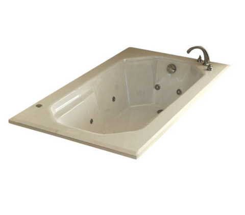 Atlantis Mirage 3660 Rectangular Jetted Spa Bathtub
