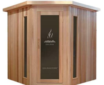 Traditional Neo Classic Style Sauna By Saunacore